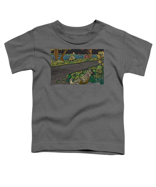 Charlie On Path Toddler T-Shirt