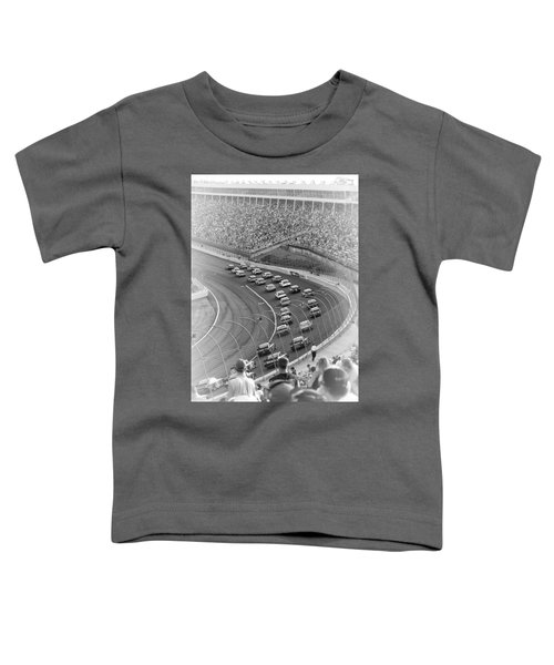 A Day At The Racetrack Toddler T-Shirt