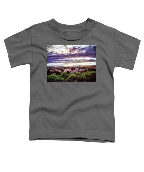 Charm City Sunset Toddler T-Shirt