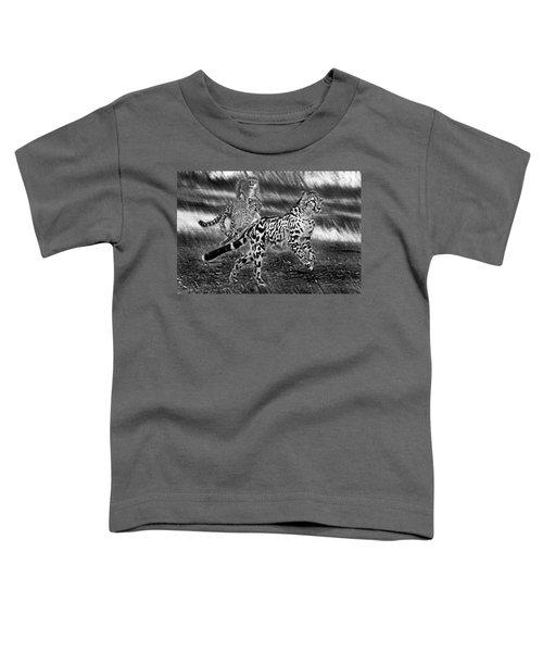 Chasing Mum Toddler T-Shirt by Miroslava Jurcik