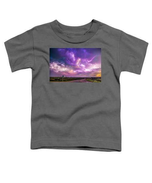 Chasing Nebraska Lightning 056 Toddler T-Shirt