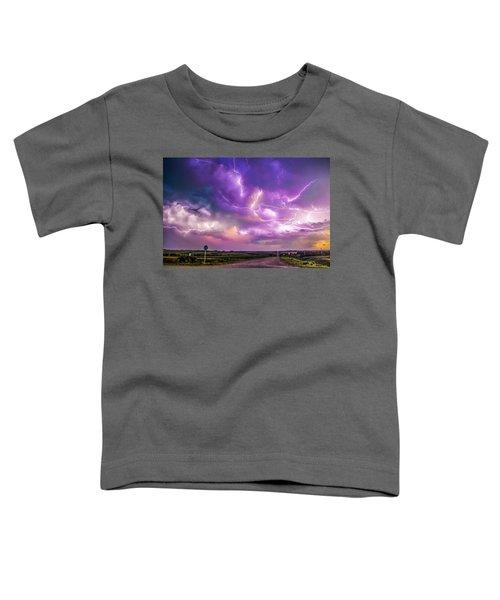 Chasing Nebraska Lightning 056 Toddler T-Shirt