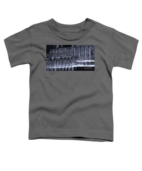 Chasing Waterfalls - Blue Toddler T-Shirt