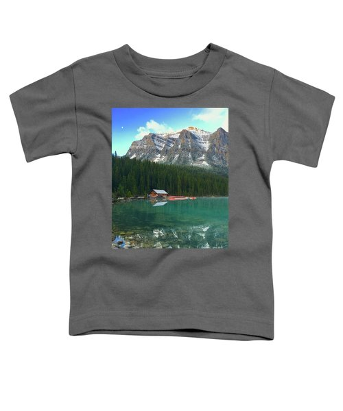 Chateau Boat House Toddler T-Shirt