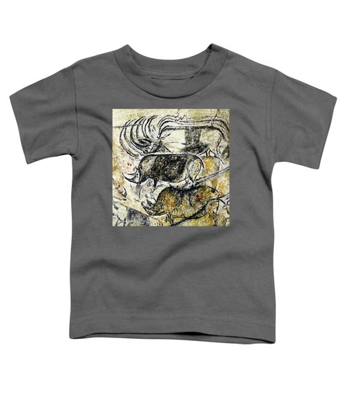 Chauvet Three Rhinoceros Toddler T-Shirt