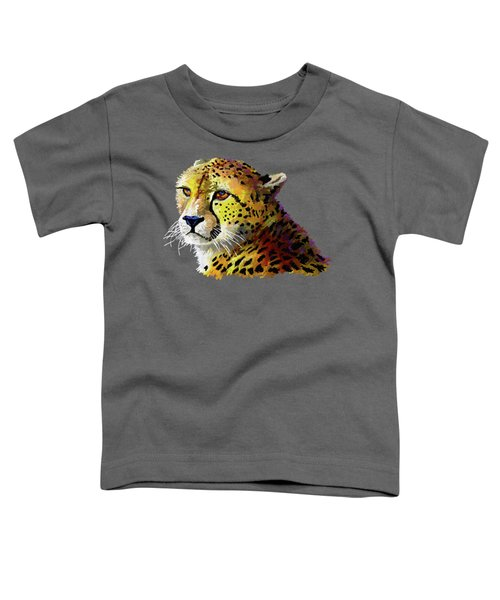 Cheetah Toddler T-Shirt by Anthony Mwangi