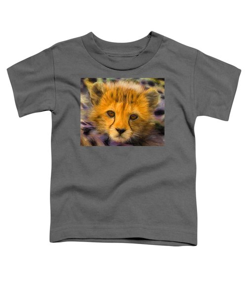 Cheetah Cub Toddler T-Shirt