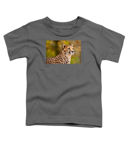 Cheetah In A Forest Toddler T-Shirt