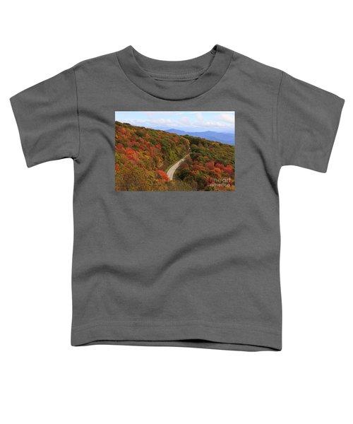 Cherohala Skyway In Nc Toddler T-Shirt