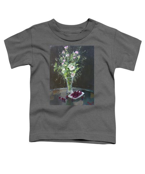 Cherries And Flowers For Her IIi Toddler T-Shirt
