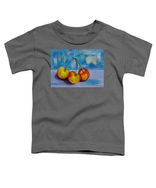 Cherries Trio Toddler T-Shirt
