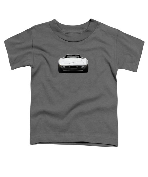 Chevrolet Corvette Sting Ray Toddler T-Shirt