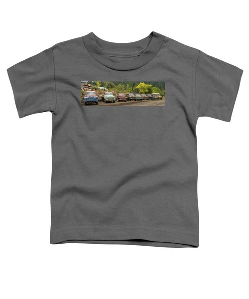 Chevy Line Up Toddler T-Shirt