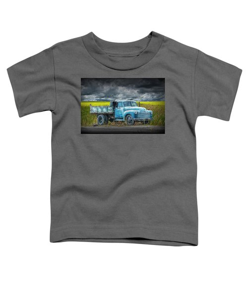 Chevy Truck Stranded By The Side Of The Road Toddler T-Shirt