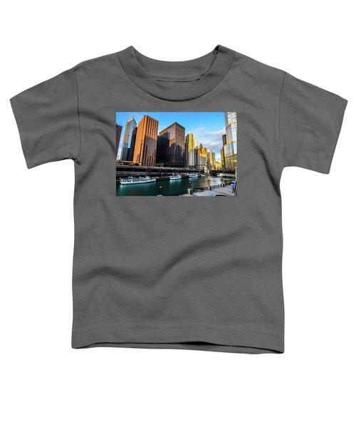 Chicago Navy Pier Toddler T-Shirt