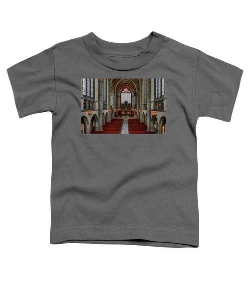 Chicago Rockefeller Chapel Toddler T-Shirt