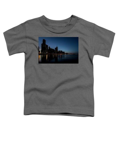Chicago Skyline From Olive Park  Toddler T-Shirt
