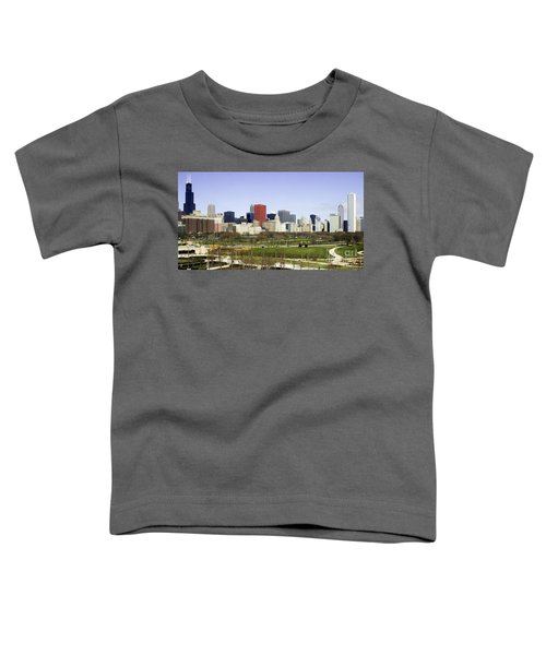 Chicago- The Windy City Toddler T-Shirt