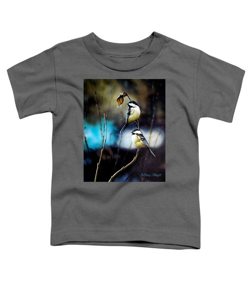 Chickadees Toddler T-Shirt
