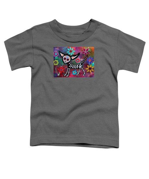 Chihuahua Dia De Los Muertos Toddler T-Shirt