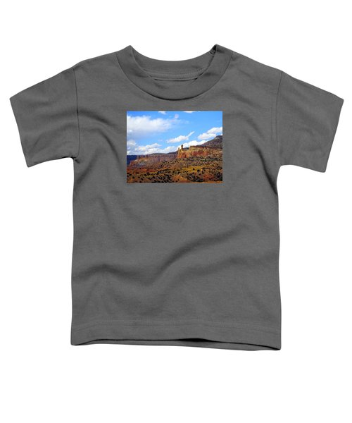 Chimney Rock Ghost Ranch New Mexico Toddler T-Shirt