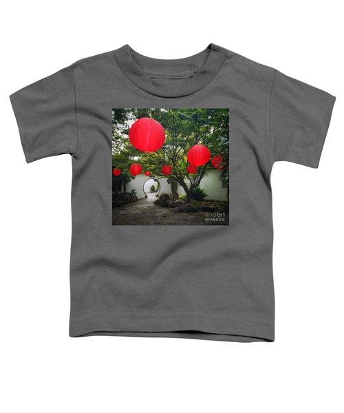 Chinese Tea Garden In Portland, Oregon Toddler T-Shirt