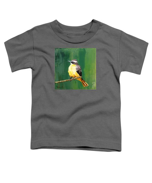 Chirping Charlie Toddler T-Shirt