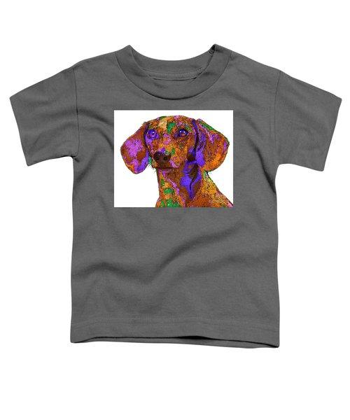 Chloe. Pet Series Toddler T-Shirt
