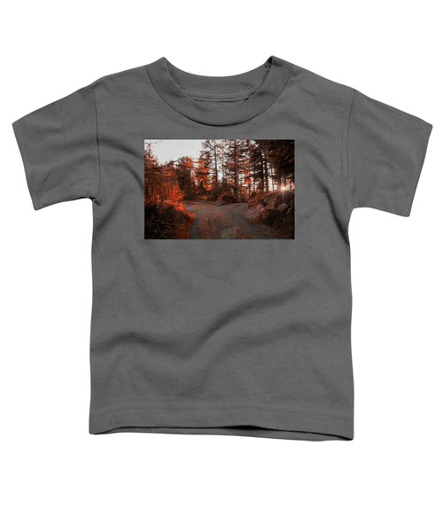 Choose The Road Less Travelled Toddler T-Shirt