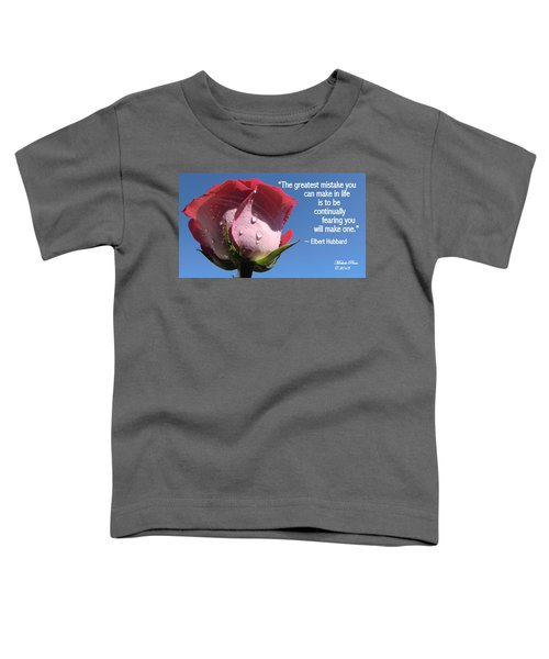 Choose Your Quote Choose Your Picture 24 Toddler T-Shirt