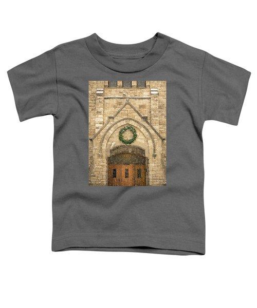 Christmas At Stone Chapel Toddler T-Shirt
