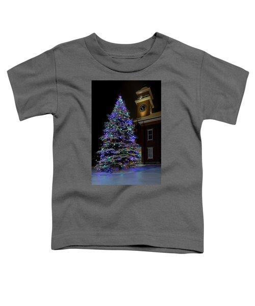 Christmas At Town Hall Toddler T-Shirt