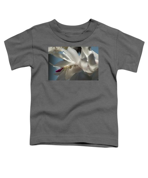 Christmas Cactus Blossom Toddler T-Shirt
