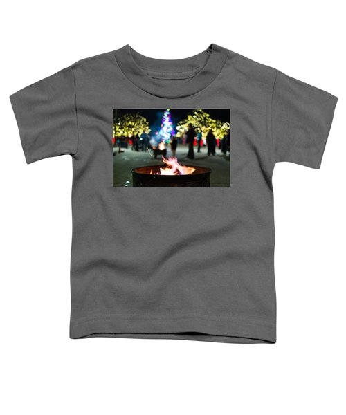 Christmas Fire Pit Toddler T-Shirt