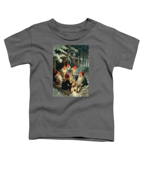 Christmas Gnomes Toddler T-Shirt