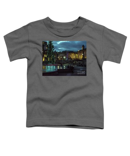 Christmas In Trafalgar Square, London 2 Toddler T-Shirt