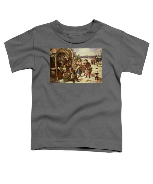 Christmas Morning Toddler T-Shirt