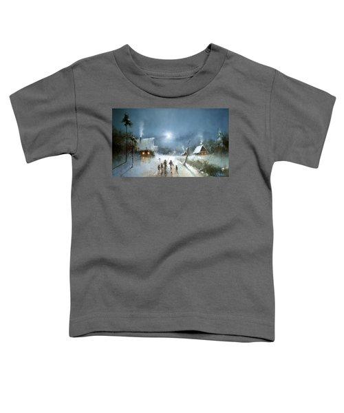 Christmas Night Toddler T-Shirt