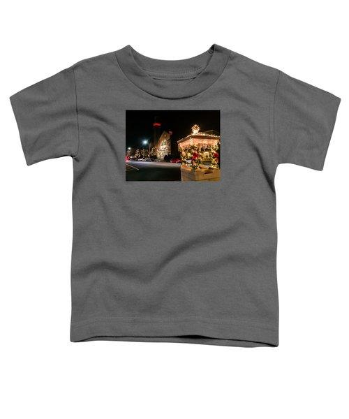 Christmas On Main Street Easthampton Toddler T-Shirt
