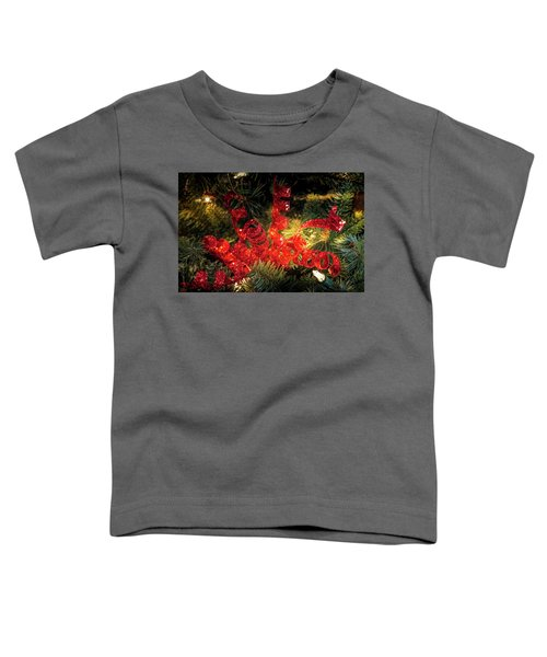 Christmas Red Toddler T-Shirt