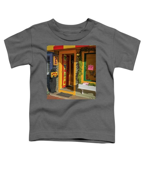Christmas Toys In The Attic Toddler T-Shirt