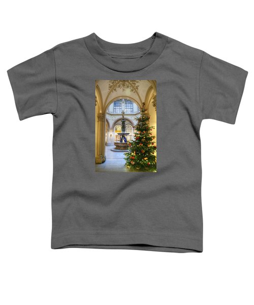 Christmas Tree In Ferstel Passage Vienna Toddler T-Shirt