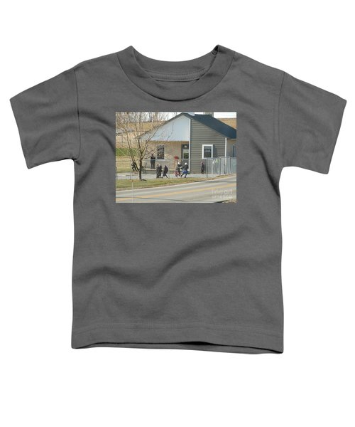 Christmastime At The Schoolhouse Toddler T-Shirt
