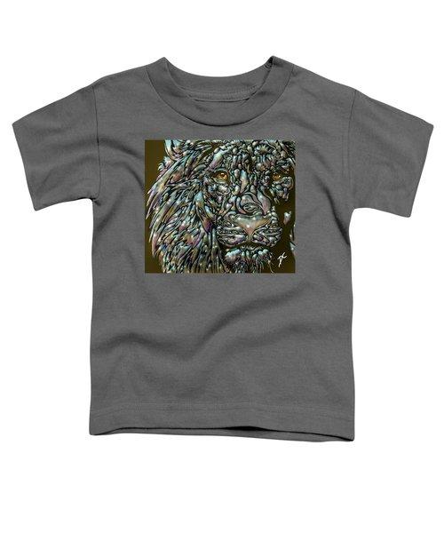 Chrome Lion Toddler T-Shirt
