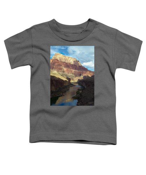 Chuar Butte Colorado River Grand Canyon Toddler T-Shirt