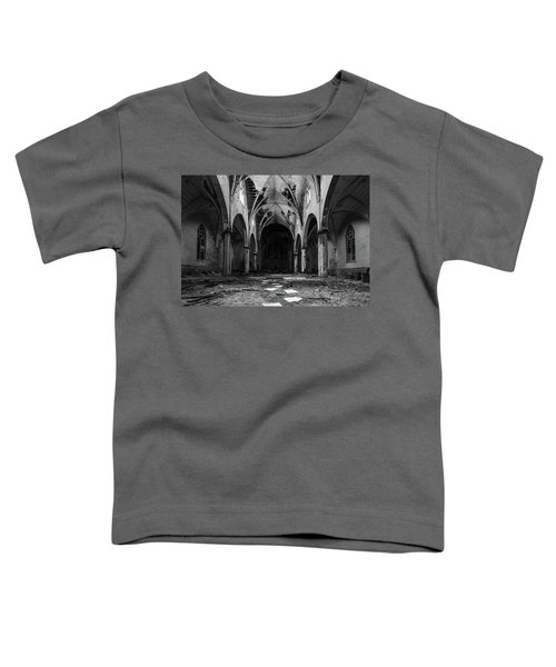Church In Black And White Toddler T-Shirt