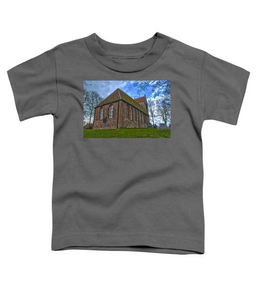 Church On The Mound Of Oostum Toddler T-Shirt