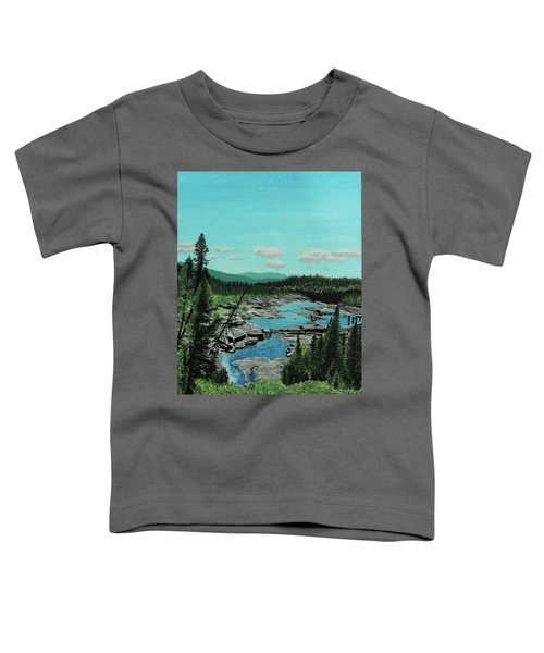 Churchill River Toddler T-Shirt