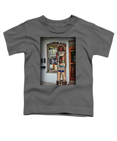 Cigar Store Indian Toddler T-Shirt