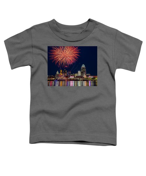 Cincinnati Fireworks Toddler T-Shirt